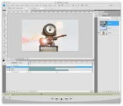 Tutorial Photoshop : Initiation à l'édition de la vidéo   Time to Learn   Scoop.it