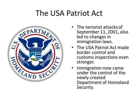 Usa patriot act pros and cons essay