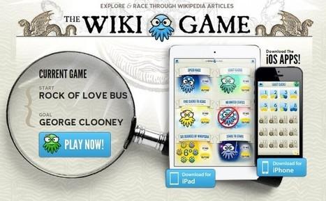 El juego de la Wikipedia, para ver quién es el más eficaz navegando | Nesrin Ouis | Scoop.it