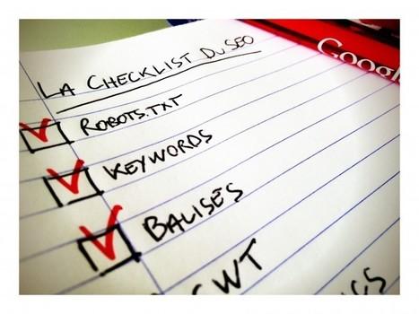 La checklist SEO du webmaster en 33 points   Outils et astuces du web   Scoop.it