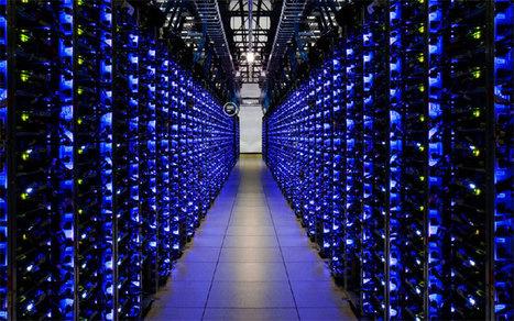 Peek Inside Google's Vast Data Centers | Media Techniques | Scoop.it