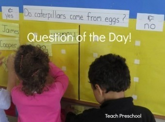 Question of the day | Teach Preschool | Scoop.it