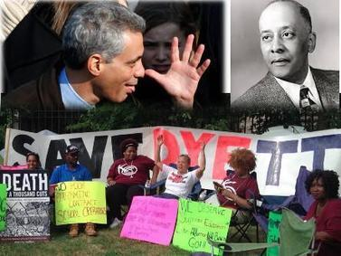 Organizing, Not Activism: Chicago's Dyett HS Hunger Strikers Mark 11th Day ... - Black Agenda Report | Activism, Protest, Citizen Movements, Social Justice | Scoop.it