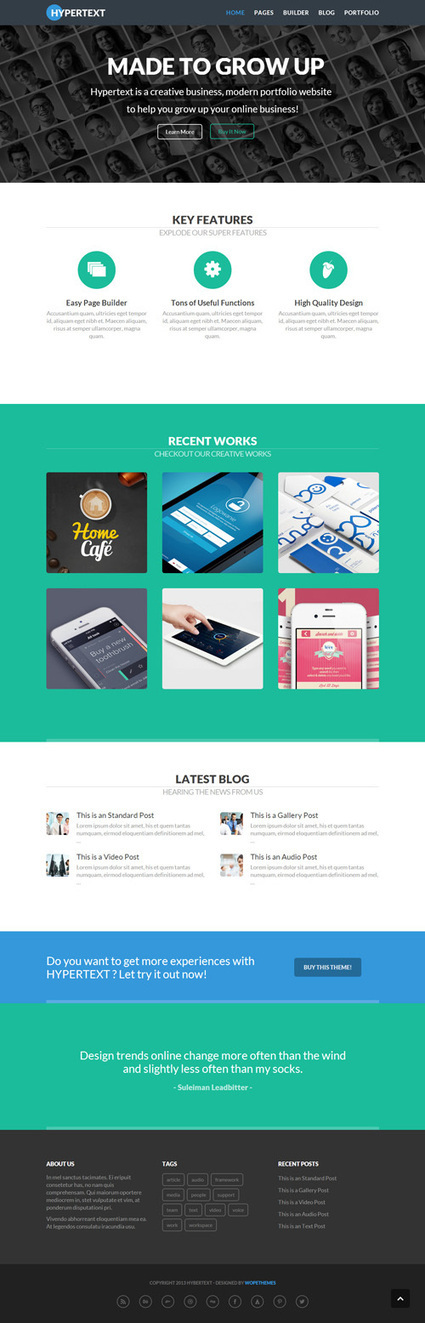 WordPress Themes For News/Magazine WordPress Sites   Wordpress Themes   Design Magazine   Template & Webdesign   Scoop.it