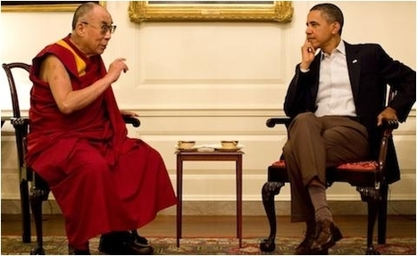 White House welcomes Dalai Lama, China irked | The Raw Story | Human Rights and the Will to be free | Scoop.it