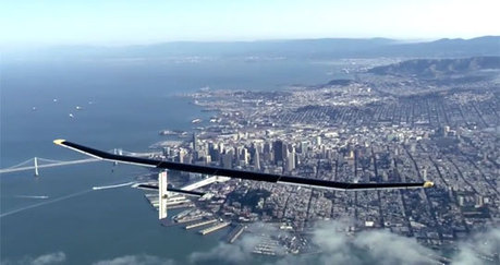 Solar Impulse – The Plane That Can Fly Forever   Heron   Scoop.it