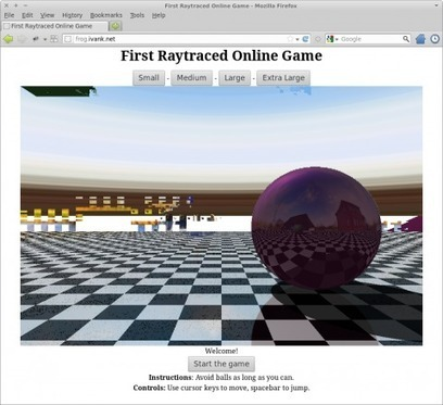 Realtime raytraced browser game - GameDev.net | opencl, opengl, webcl, webgl | Scoop.it