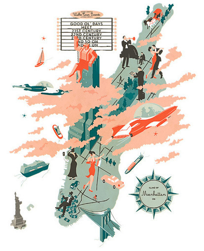Illustrators and Visual Storytellers Map the World | ESocial | Scoop.it