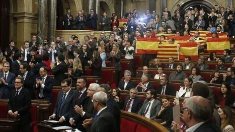 Catalonia independence: Parliament votes to start secession from Spain | AP HUMAN GEOGRAPHY DIGITAL  STUDY: MIKE BUSARELLO | Scoop.it