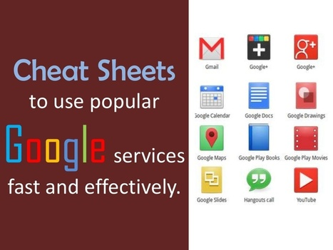 Cheat Sheets for Google Services | MarketingHits | Scoop.it