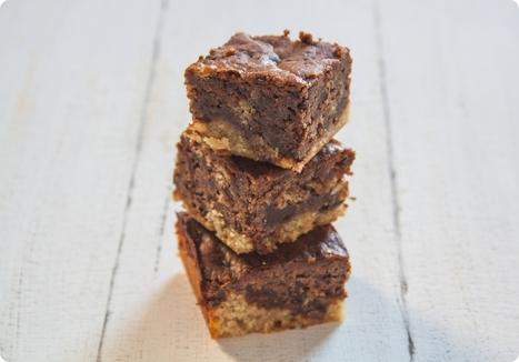 Erdnuss-Schoki-Brownies - Peanut Butter-Chocolate-Brownies | The ... | Brownies, Muffins, Cheesecake & andere Leckereien | Scoop.it