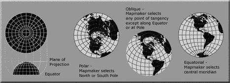 Map Projections | AP Human Geography Education | Scoop.it