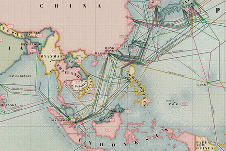 Infographic: The 550,000 Miles Of Undersea Cabling That Powers The Internet | marque-page | Scoop.it