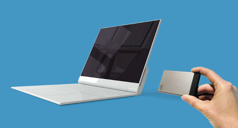 NexDock is Working on a Hybrid Laptop Dock for Intel Compute Cards | Embedded Systems News | Scoop.it