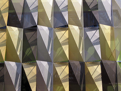 Unique Solar Protection + A Dynamic Facade in Australia | sustainable architecture | Scoop.it