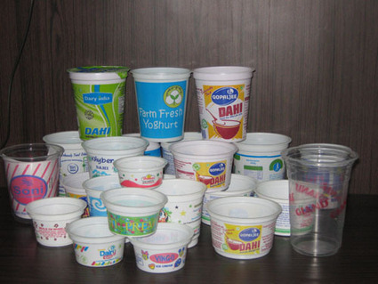 Disposable Plastic Ice Cream and Curd Cups Manu