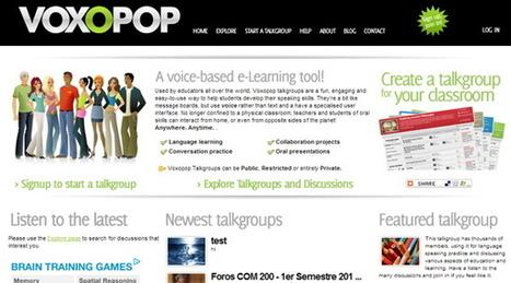 6 servicios para crear y compartir grabaciones de audio online | compaTIC | Scoop.it