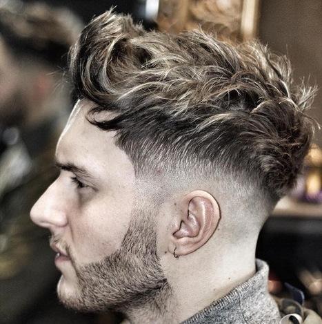 Strukturierte Frisuren Für Männer F