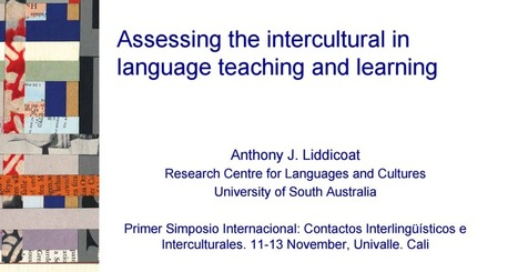 Assessing the intercultural in language teaching and learning.pptx | Language Assessment | Scoop.it