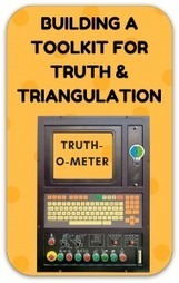 "Truth, truthiness, triangulation: A news literacy toolkit for a ""post-truth"" world 