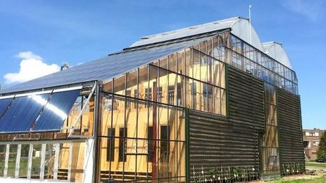Maison-serre, toit potager... et l'envie de se mettre au vert   Eco-construction et Eco-conception   Scoop.it