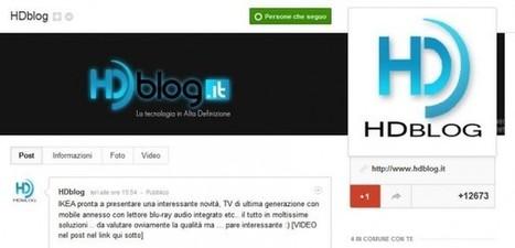 Facebook ingrandisce la foto profilo, Google Plus fa lo stesso e ... - HDblog (Blog) | About Google+ | Scoop.it