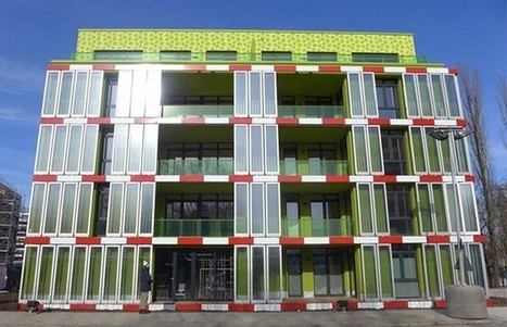 Inhabitat's Week in Green: algae-powered building, ionic wind thrusters and 3D-textured solar cells | midwest corridor sustainable development | Scoop.it