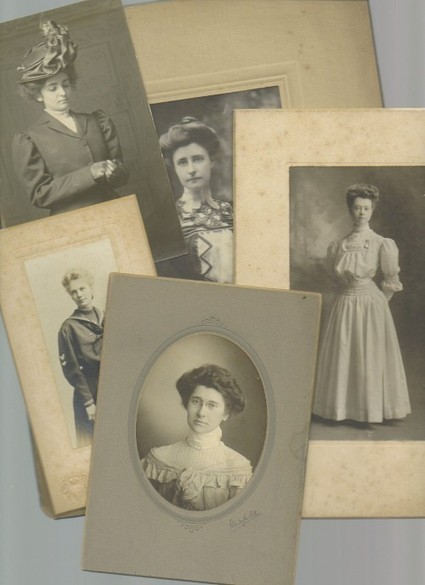 1.00 No Reserve x5 antique photos of Edwardian women (Auction ID: 230282, End Time : Oct. 27, 2012 19:45:00) - MYNOTERA ONLINE AUCTION | $1.00 No Reserve Auctions | Scoop.it