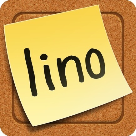 Sticky and Photo Sharing for you - lino | Projet the Ghost - TICE | Scoop.it