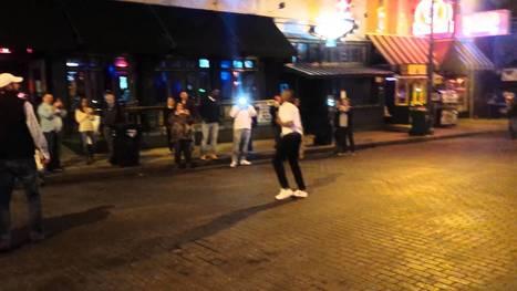 Busking Memphis Tenn, Back flip Over 4 GUYS !!!!!! - Street I Am   busking   Scoop.it