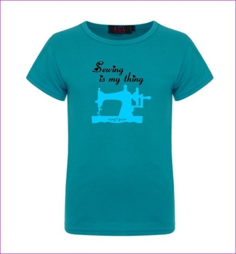 Sewing is my thing t-shirt (ladies) | Conscious Crafties | Fiber Arts | Scoop.it