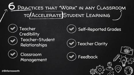 "6 Practices that ""Work"" to Accelerate Student Learning 