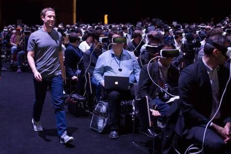 La inquietante foto de  Mark Zuckerberg en el MWC que anticipa un futuro distópico   DIGITAL CULTURE   Scoop.it