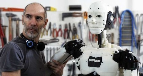 3D Printed Robots Will Become Hospital and Museum Workers in Lincolnshire, UK, According to Doctor | 3d printers and 3d scanners | Scoop.it