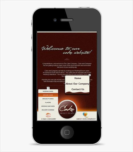 3 Unique Web Template Designs for iPhone | Lectures web | Scoop.it