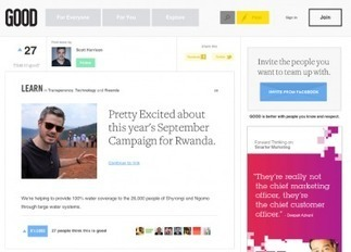 What's Next for Good Magazine? A Social Network. | Non-profit Tech | Scoop.it