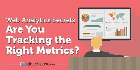 Web Analytics Secrets : Are You Tracking The Right Metrics ?   Social Media, SEO, Mobile, Digital Marketing   Scoop.it