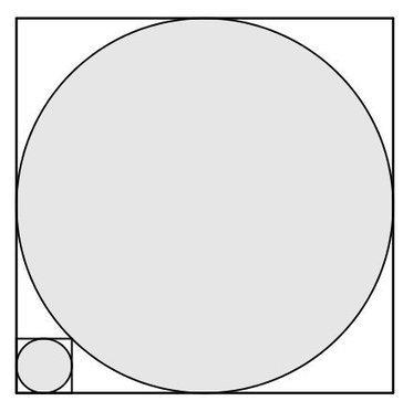 Dos problemas de cálculo de áreas sombreadas | Matemáticas curiosas. Curiosidades matemáticas. | Scoop.it