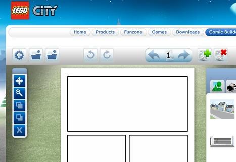 LEGO.com : Comic Builder | Edu 2.0 | Scoop.it