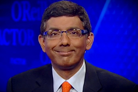 Right-wing author and filmmaker Dinesh D'Souza sets off Twitter storm with outrageously racist tweet | Daily Crew | Scoop.it