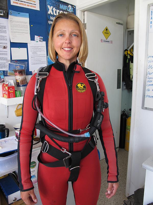 Sidemount Diving Cyprus Scuba Diving In Cypr
