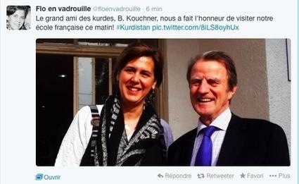 Appel aux lecteurs du Phenix kurde: dois-je demander à Bernard Kouchner d'écrire la préface de mon livre sur le génocide? | Béatrice D. | Scoop.it