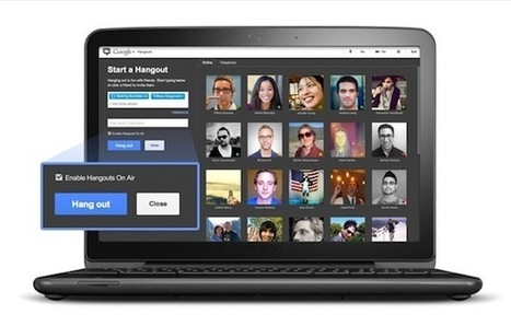 Google Launches Hangouts on Air | Geek Beat Technology News | 21st Century Learning tools | Scoop.it