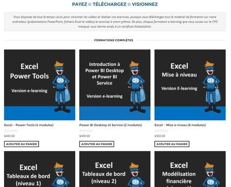 50% de rabais sur nos formations en ligne et en classe – Le CFO masqué | MSExcel | Scoop.it