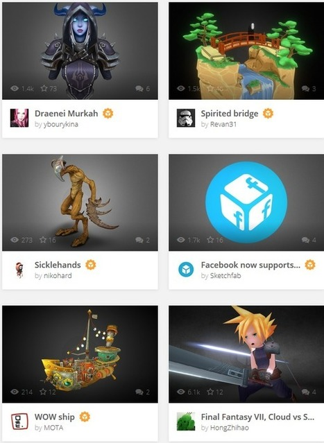 Facebook Now Allows Interactive Embeddable 3D Models From Sketchfab in Users' Streams | tecnologia s sustentabilidade | Scoop.it