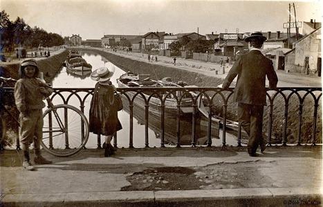 Le canal du Midi depuis le pont Matabiau, comme vous ne l'avez (peut-être) jamais vu | Archives municipales de Toulouse | Scoop.it