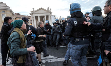 Vatican protesters evicted by police | Modern Atheism | Scoop.it