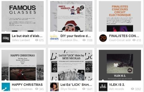 Checkthis - Digital posters for social media   Digital Presentations in Education   Scoop.it