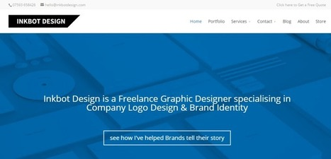 Inkbot Design - Freelance Graphic Designers via promote4you | Promote4you | Scoop.it