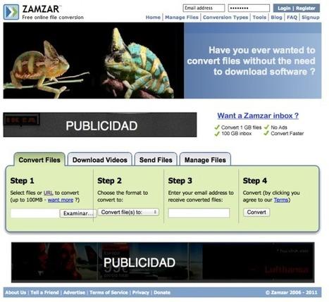 Convertir formatos online | Educación a Distancia y TIC | Scoop.it